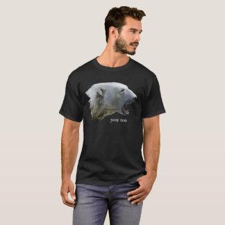 Ein Eisbär knurrt T-Shirt