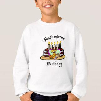 Ein Erntedank-Geburtstag Sweatshirt