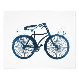 Ein Fahrrad Fotodruck