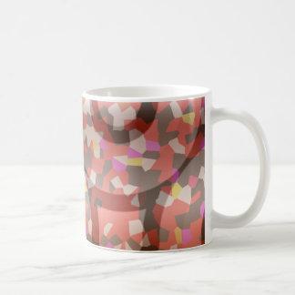 Ein farbiger Entwurf Kaffeetasse