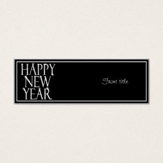 Ein Funkelnguten Rutsch ins Neue Jahr Mini Visitenkarte