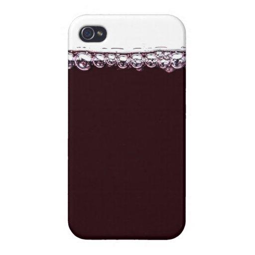 ein glas rotwein iphone 4 4s h llen zazzle. Black Bedroom Furniture Sets. Home Design Ideas