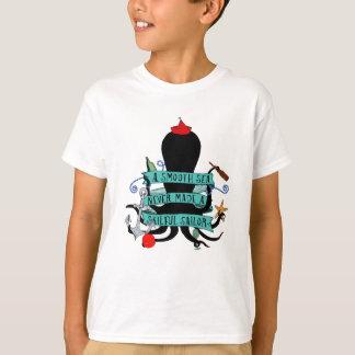 Ein glattes Meer machte nie einen geschickten T-Shirt