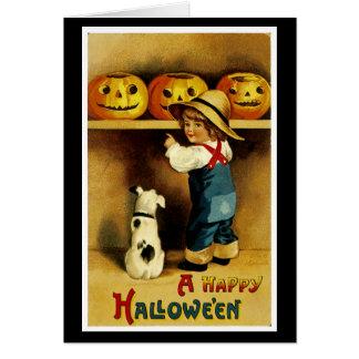 Ein glückliches Halloween Karte