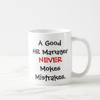 Ein gute Stunden-Managernie Mokes Mistrakes! Kaffeetasse