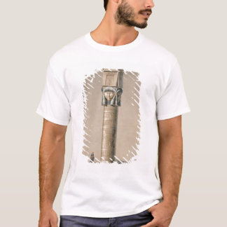 Ein Hathor ging Säule bei Dendarah, Illustration T-Shirt