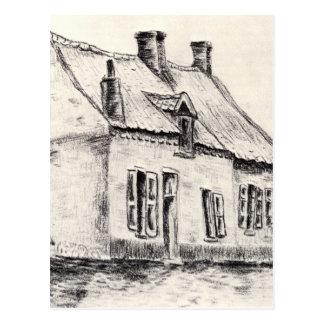 Ein Haus Magros durch Vincent van Gogh Postkarte