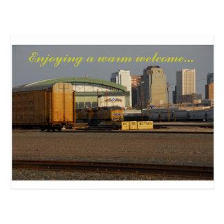 ein herzliches Willkommen von Phoenix AZ Postkarte