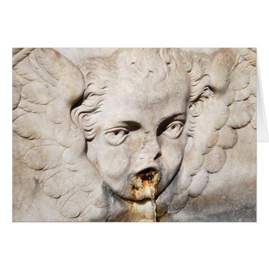 Ein italienischer Engel Karte
