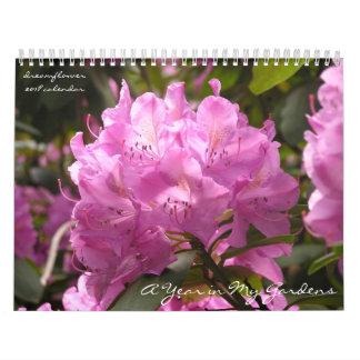 Ein Jahr in meinen Gärten: dreamflower 2018 Abreißkalender