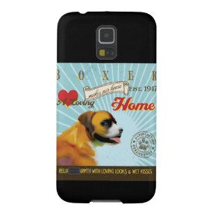 Ein liebevoller Boxer macht unser Haus-Zuhause Galaxy S5 Hülle