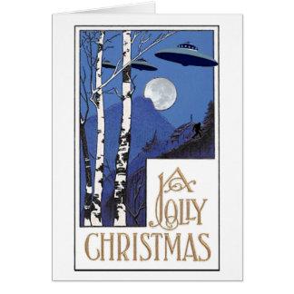 Ein lustiges Weihnachten Karte