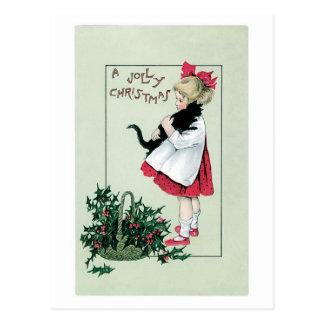 Ein lustiges Weihnachten Postkarte