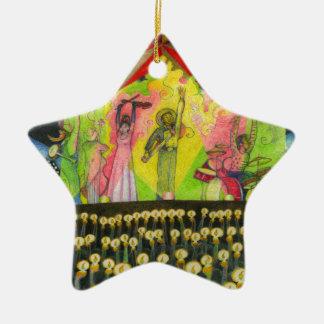 Ein-Mächtig-Baum-Seite 34 Keramik Stern-Ornament
