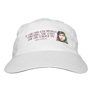 Ein Mädchen-Leistungs-Hut Headsweats Kappe