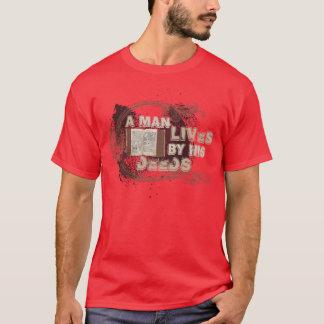 """""""Ein Mann lebt durch seine Briefe """" T-Shirt"""