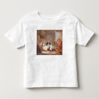 Ein musikalischer Abend (Öl auf Leinwand) 2 Kleinkinder T-shirt