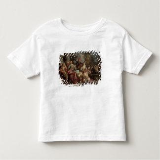 Ein musikalisches Zwischenspiel auf einem Patio Kleinkinder T-shirt