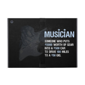 Ein Musiker ist… iPad Mini Hülle