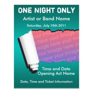 Ein Nachtnur Musik-Flyer