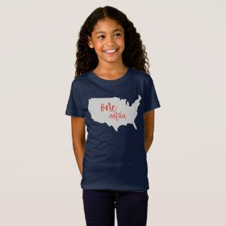 Ein Nations-Amerika-Shirt T-Shirt