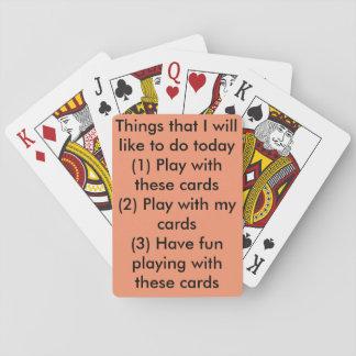 Ein niedlicher Kartensatz perfekt für einen Tag Spielkarten