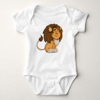 ein niedlicher Löwe Baby Strampler