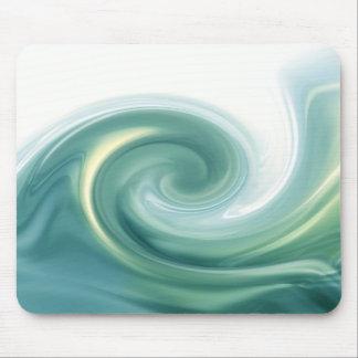 Ein Ozean der grünen Wellen Mousepad