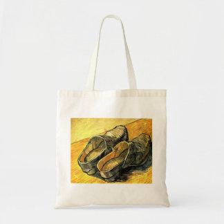 Ein Paar Leder-Klötze durch Vincent van Gogh Tragetasche