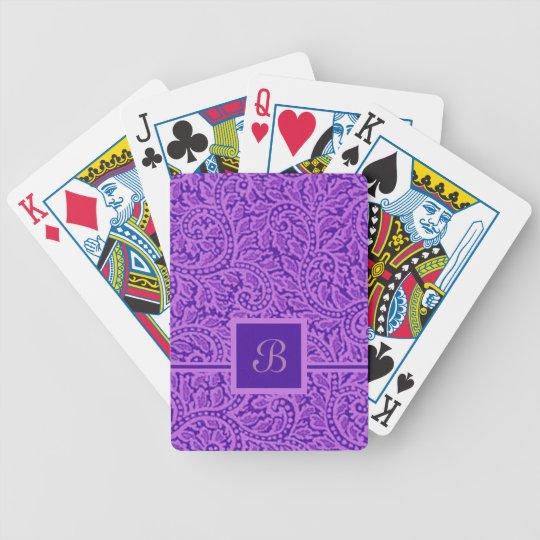 Ein Paisley-Strudel 5 Bicycle Spielkarten