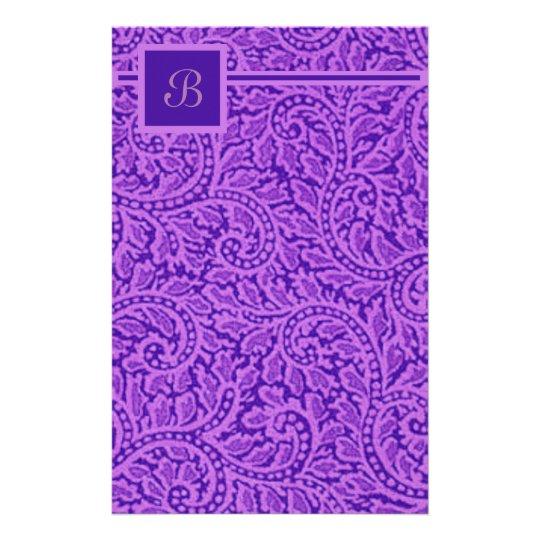 Ein Paisley-Strudel 5 Briefpapier