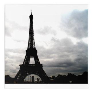 Ein Paris… La-Ausflug Eiffel Acryl Wandkunst