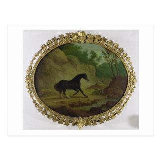 Ein Pferd erschrocken durch eine Schlange, 1792 Postkarte