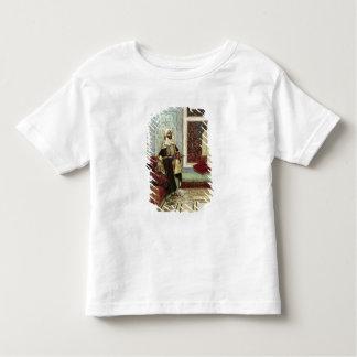Ein Publikum (Öl auf Platte) erwarten Kleinkinder T-shirt