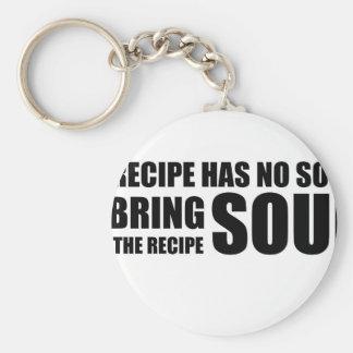 Ein Rezept hat kein Soul. Ich hole Soul zum Rezept Schlüsselanhänger