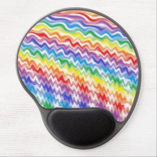 Ein rhythmischer Regenbogen Gel Mousepad
