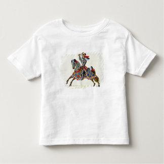 Ein Ritter an einem Turnier, Platte von 'einer Kleinkinder T-shirt