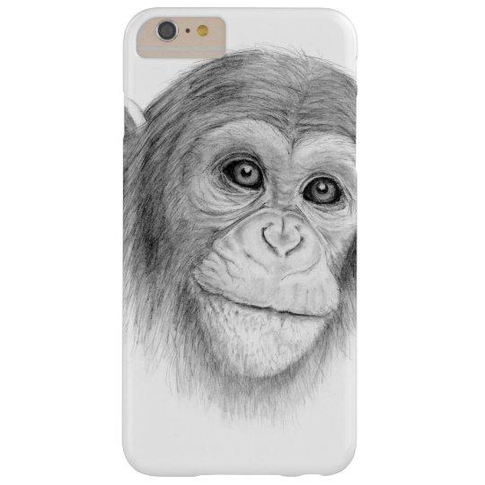 Ein Schimpanse, nicht herum Monkeying Skizze HTC Vivid / Raider 4G Cover