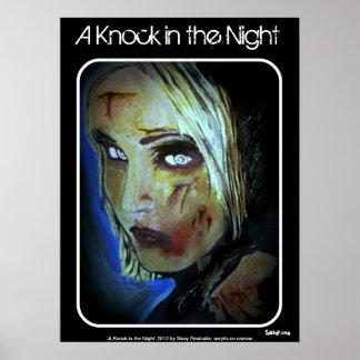 """""""Ein Schlag im Nacht"""" (Zombie) Plakat"""