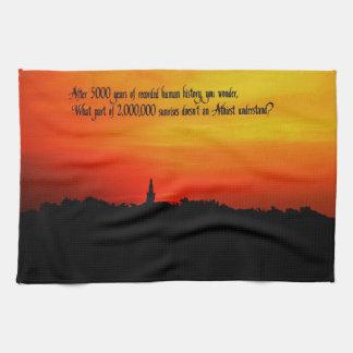 Ein schöner Sonnenaufgang Handtuch