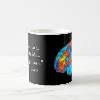 Ein schönes Gehirn Kaffeetasse