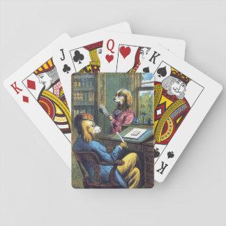 Ein sehr vornehmer Hund, Spielkarten