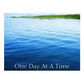 Ein Tag auf einmal Postkarte