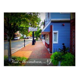 Ein Tag in Moorestown, NJ Postkarte