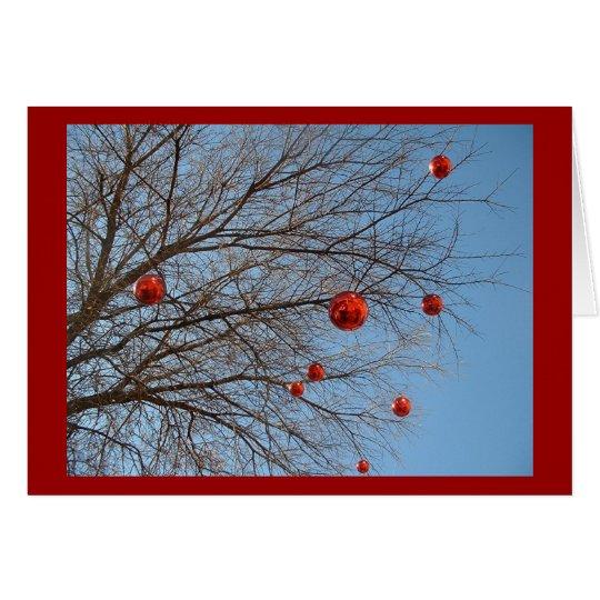 Ein texan-Weihnachtsbaum Karte