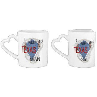 Ein Texas-Paar Liebestassen
