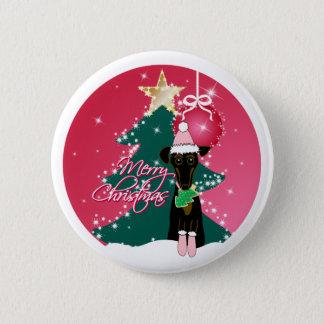 Ein tolles Weihnachten Runder Button 5,7 Cm