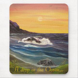 Ein Tropfen des Ozeans. Mousepads
