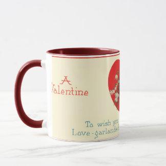 Ein Valentinsgruß-Gruß Tasse