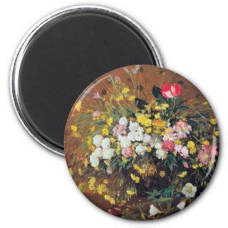 Ein Vase des Blumen-Magneten Runder Magnet 5,7 Cm